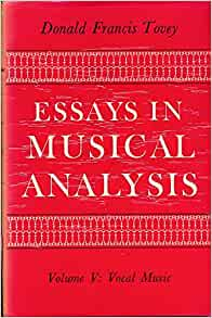 tovey essays in musical analysis chamber music Donald tovey - the main stream of music and other essayspdf - ebook download as pdf file (pdf), text file (txt) or read book online.