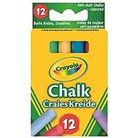 Crayola - Anti Dust Assorted Chalk