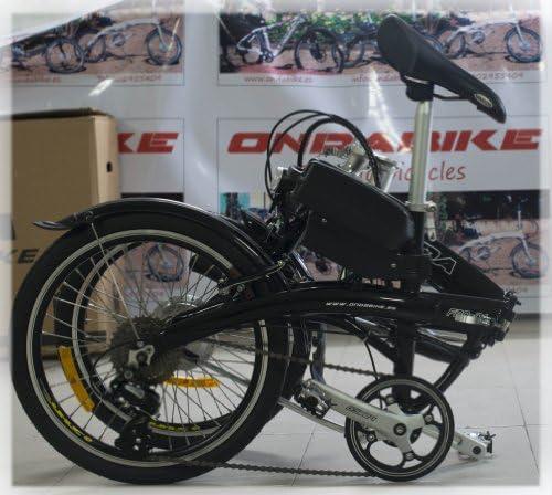 Bicicleta electrica plegable (negro): Amazon.es: Deportes y aire libre