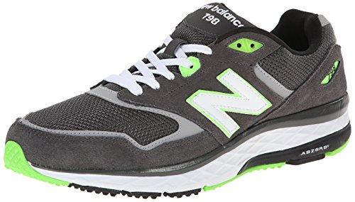 Nuovo Equilibrio Mens Ml798 Sneaker Classico Nero / Grigio