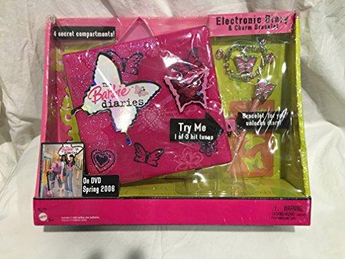 Barbie Pom Pom Divas: Electronic Diary (Diary Toy Electronic)