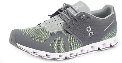 On CLOUDFLOW, Zapatillas masculinas para correr y caminar, Moss/Line, nº. 41, color Gris, talla 42.5 EU: Amazon.es: Zapatos y complementos