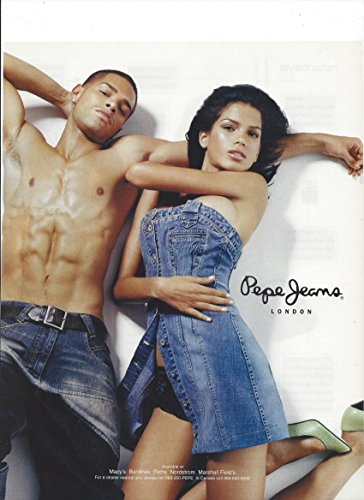 Magazine PRINT AD With Alina Puscau In Dress For Pepe Jeans 2006PRINT AD (Jeans Dresses Pepe)