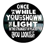 Scarlet Begonias Shown The Light song lyrics by Grateful Dead on a Vinyl Record Wall Decor