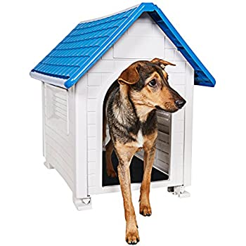 Animal Favorite Comfy Dog House, Superior Quality Waterproof Resin Construction