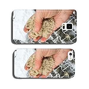 Road salt in winter cell phone cover case iPhone5