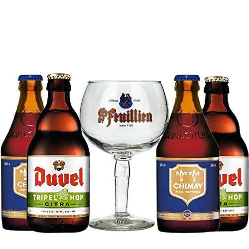 Kit Cervejas Belgas Taça Feuillien