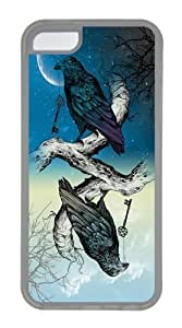 TYHde ipod Touch4 Cases & Covers -Raven's Key Night Day TPU Custom ipod Touch4 Case Cover Transparent ending Kimberly Kurzendoerfer