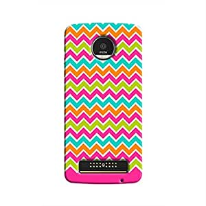 Cover It Up - Jagged Pop Moto Z PlayHard Case