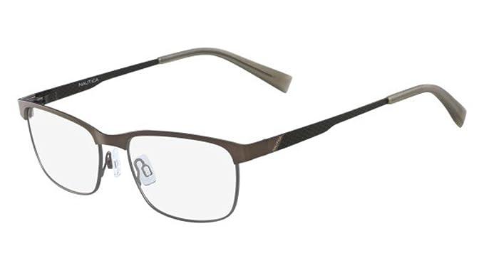 Eyeglasses NAUTICA N 7277 237 MATTE BROWN/GUNMETAL at Amazon Men\'s ...