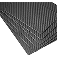 ZSJ 200X300X1.5mm 3K Twill Matte Carbon Fiber Sheet Panel For Multicopter RC Drone 1piece/pack