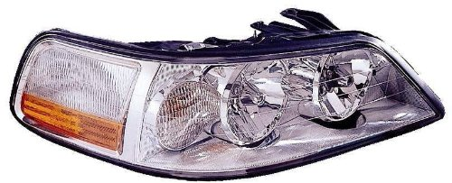 (Depo 331-1187R-AS Lincoln Town Car Passenger Side Replacement Headlight Assembly)