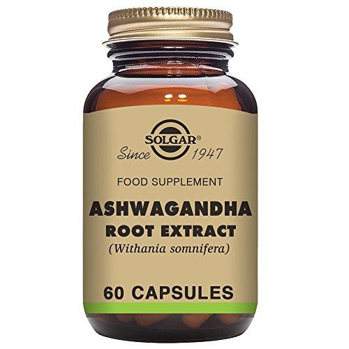 Solgar Standardized Full Potency Ashwagandha Root Extract Vegetable Capsules, 60 ()