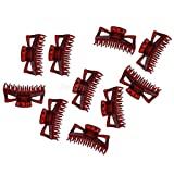 10pcs Women Girls Large Hair Claws Clip Jaw Clamp Multicolor Hairpin For Girls (Color - #2)