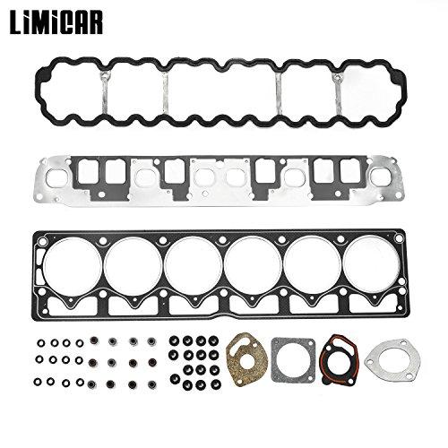 LIMICAR Cylinder Head Gasket Set For 1999-2001 Jeep Cherokee 1999-2003 Jeep Grand Cherokee 2000-2003 Jeep TJ Jeep Wrangler 4.0L L6 Vin S V HS9076PT-4