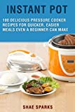 Instant Pot Electric Pressure Cooker Cookbook: 100+ DELICIOUS PRESSURE COOKER RECIPES FOR QUICKER, EASIER MEALS EVEN A BEGINNER CAN MAKE