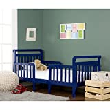 (US) Dream On Me Emma 3 in 1 Convertible Toddler Bed, Royal Blue