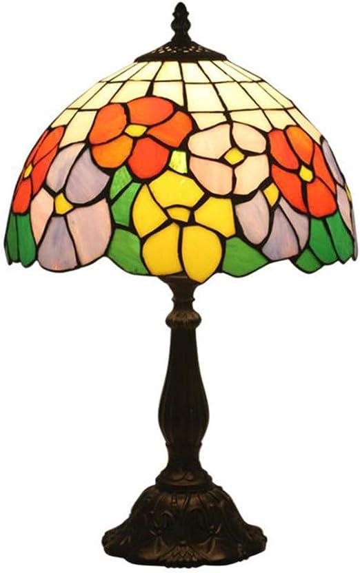 Lámpara de Mesa Creativa Jardín Tabla Cristal de iluminación Sala ...
