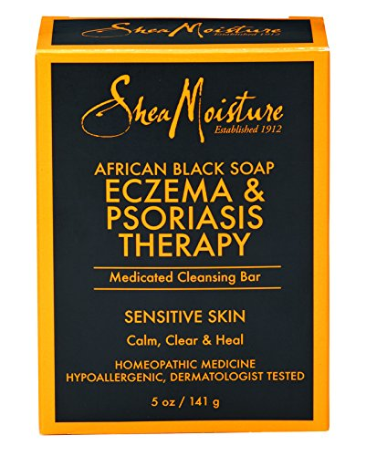 SheaMoisture's African Black Soap Eczema & Psoriasis Therapy | 5 oz ()