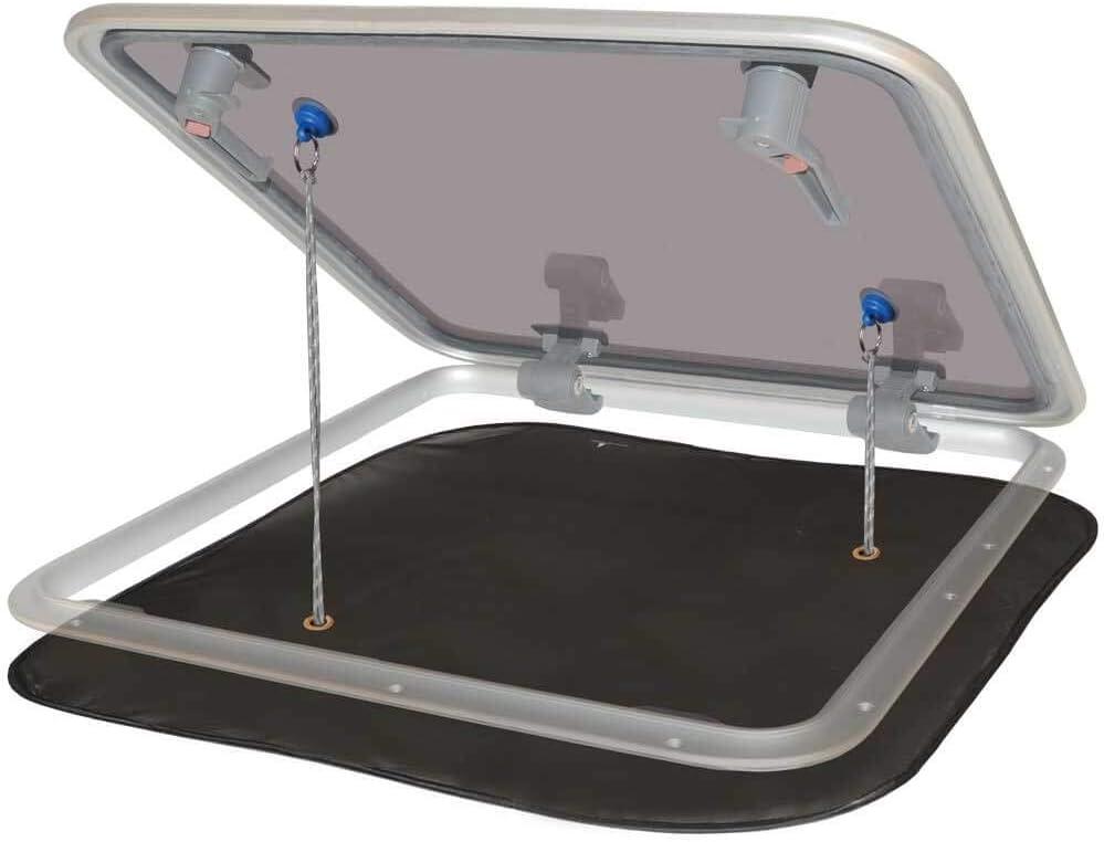 Water line Diseño Popup de mosquitera para Deck Escotillas 800 x 800 mm