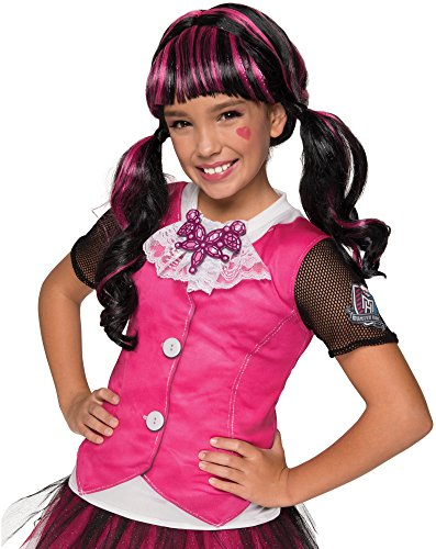 Rubie's Costume Monster High Draculaura Photo Real Costume Top Costume, Small -
