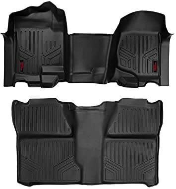 Amazon Com Rough Country Floor Liners Fits 2007 2013 Chevy