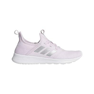 premium selection 0be73 a6d20 adidas Kids Cloudfoam Pure, aero pink silver metallic white 1 M US Little