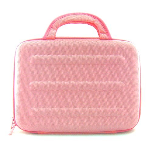 Audiovox Electronics D2011 Widescreen Ultraslim 10.2 inch Portable Widescreen DVD Player Special Edition Pink Cube Carrying Case Bag Pouch Cube