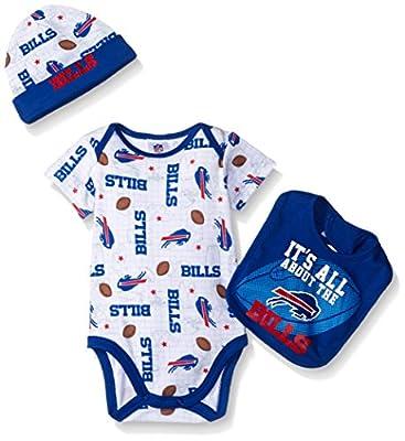 NFL Bodysuit, Bib & Cap Set