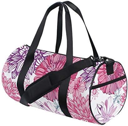ボストンバッグ アスター 花柄 ジムバッグ ガーメントバッグ メンズ 大容量 防水 バッグ ビジネス コンパクト スーツバッグ ダッフルバッグ 出張 旅行 キャリーオンバッグ 2WAY 男女兼用