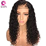150 density Water Wave Full Lace Human Hair Wigs Pre Plucked With Baby Hair Glueless Full Lace Wigs Brazilian Human Hair Wig For Black Women(22 Inch,150 density,Full Lace Wig)
