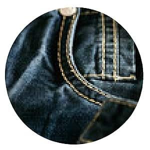alfombrilla de ratón pantalones vaqueros del bolsillo - ronda - 20cm