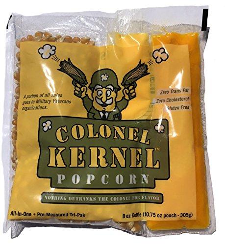 Pak Tri - Colonel Kernel Popcorn Premium 24 Pk - 8 Oz. Popcorn Tri-Pak