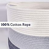 XXXL Blanket Basket Large Basket - Cotton Rope
