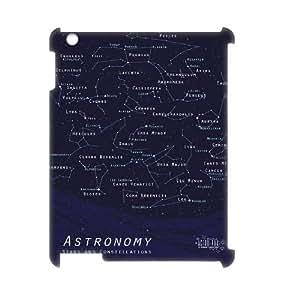 Custom iPad2,3,4 Case, Zyoux DIY Brand New 3D iPad2,3,4 Case - Summer Constellation Map