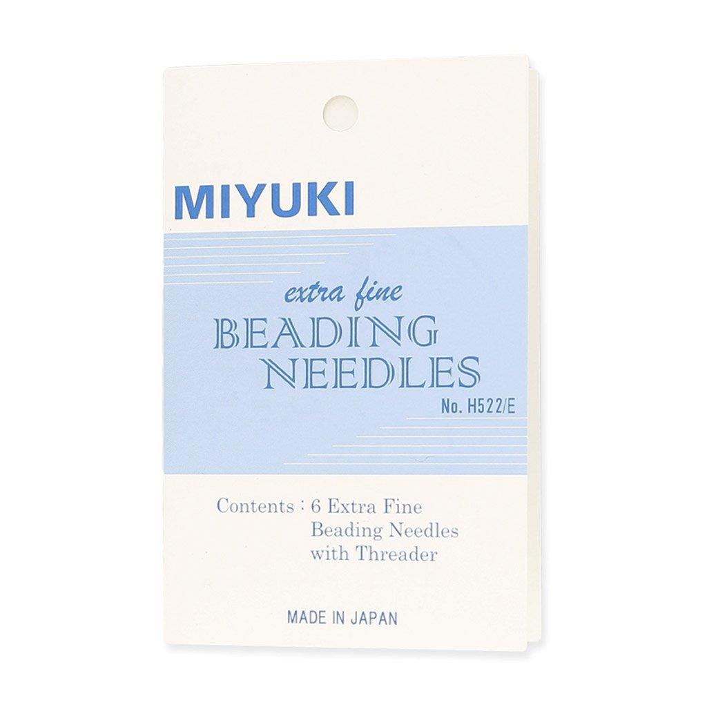 Miyuki Beading needles x6
