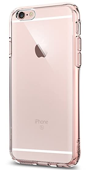new style 6d316 9376a Spigen Ultra Hybrid Designed for Apple iPhone 6S Case (2015) - Rose Crystal