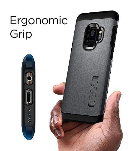 Spigen Tough Armor Designed for Samsung Galaxy S9 Case (2018) - Graphite Gray