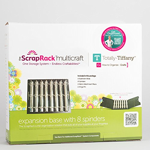 Totally-Tiffany ScrapRack Expansion Base with 8 Spinders by Totally-Tiffany