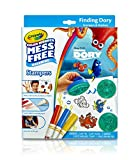 : Crayola Color Wonder Disney Pixar Finding Dory Mess Free Stampers & Drawing pad Set Art Gift for Kids & Toddlers 3 & Up, Stamps, Stamp Pad, Paper & Markers, Won't Mark Walls, Clothes or Furniture