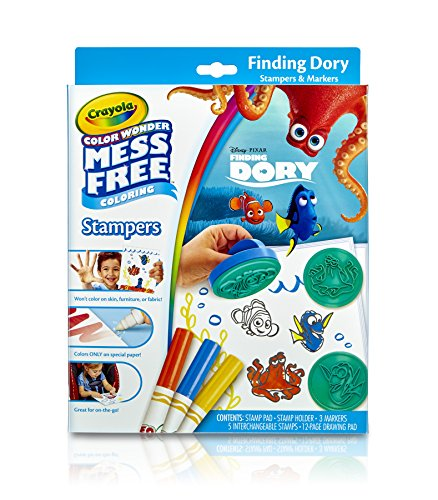 크래욜라 Crayola, Color Wonder Mess-Free Coloring, Finding Dory Stampers, Art Tools, Markers, Paper, Stamps,