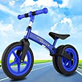 Fashine No-Pedal Balance Bike for Kids and Toddlers, Ages 2 to 6 Boys and Girls Self Balancing Sport Bicycle, Classic Run Bikes for Balance Training