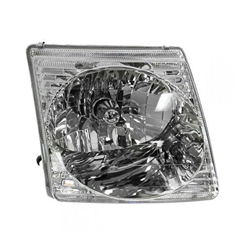 Headlight RH Right Passenger Side for Ford Explorer Sport Trac (Ford Explorer Sport Trac Headlamp)