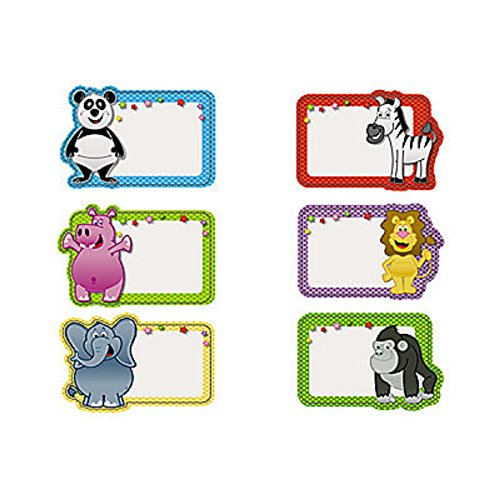 100 Animal Name Stickers Shrink wrapped