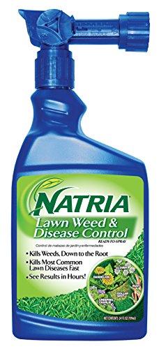 Natria 100532522 Bayer Lawn Weed & Disease Control Ready to Spray, 24 Oz, 24-Ounce, ()