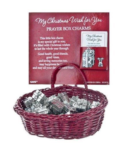 Ganz My Christmas Wish to You Prayer Box Charm-1 unit (EX20792)