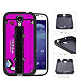 Honda JDM Series Rubber Silicone Phone Case Cover Samsung Galaxy s4 sIV I9500 (Pink)