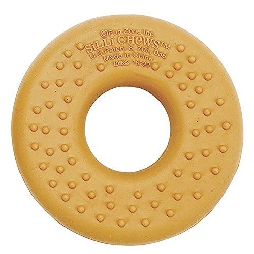 Silli Chews Chocolate Donut (Doughnut) Funny Food Teether Silicone Teething Toy