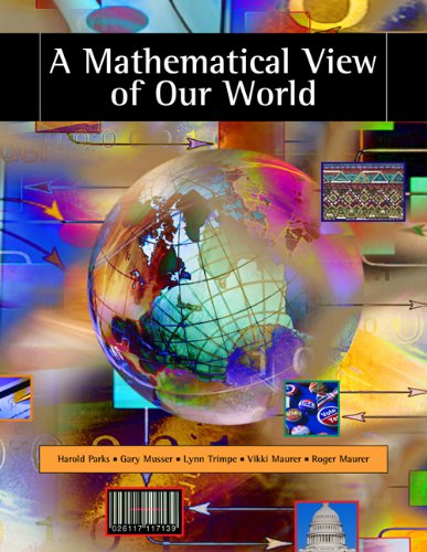 Download A Mathematical View of Our World (Available Titles CengageNOW) Pdf