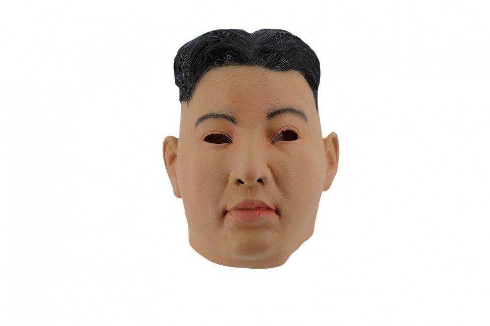 Shoperama Hochwertige Latex-Maske in Lebensmittelqualität Kim Jong-un Koreaner B079837Q83 Masken Spielzeug mit kindlichen Herzen herstellen | Leicht zu reinigende Oberfläche